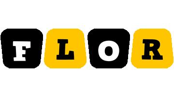 Flor boots logo