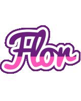 Flor cheerful logo