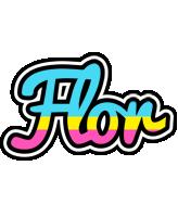 Flor circus logo