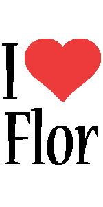 Flor i-love logo