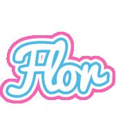 Flor outdoors logo