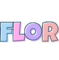 Flor pastel logo