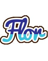 Flor raining logo