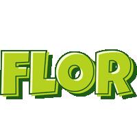 Flor summer logo