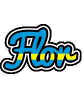 Flor sweden logo