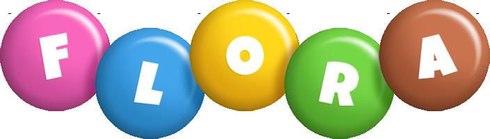 Flora candy logo