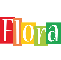 Flora colors logo