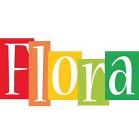 Flora colors logo