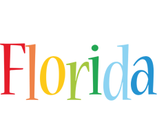 Florida birthday logo