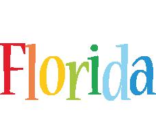 Florida birthday logo