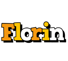 Florin cartoon logo