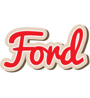 Ford chocolate logo