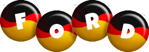 Ford german logo