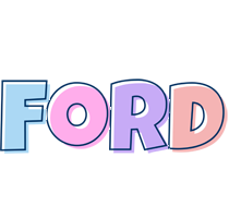 Ford pastel logo
