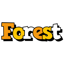 Forest cartoon logo