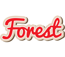 Forest chocolate logo