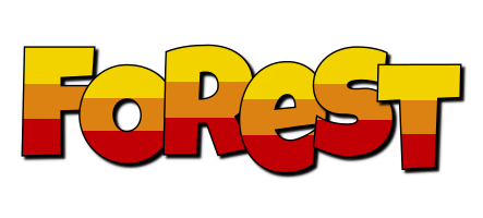 Forest jungle logo