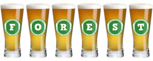 Forest lager logo