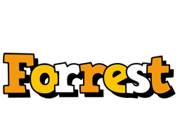 Forrest cartoon logo