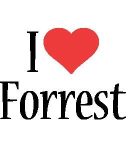 Forrest i-love logo
