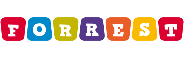 Forrest kiddo logo