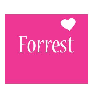 Forrest love-heart logo