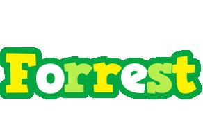 Forrest soccer logo
