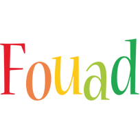 Fouad birthday logo