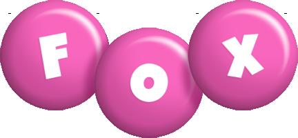 Fox candy-pink logo