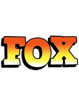Fox sunset logo