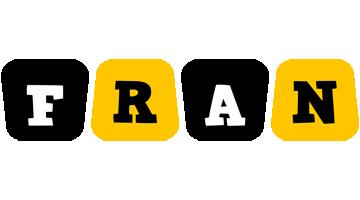 Fran boots logo