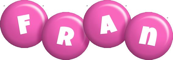 Fran candy-pink logo