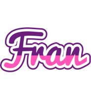 Fran cheerful logo