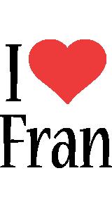 Fran i-love logo
