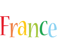 France birthday logo