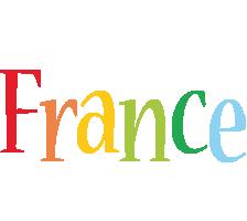 France birthday logo
