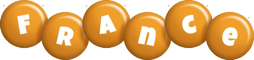 France candy-orange logo
