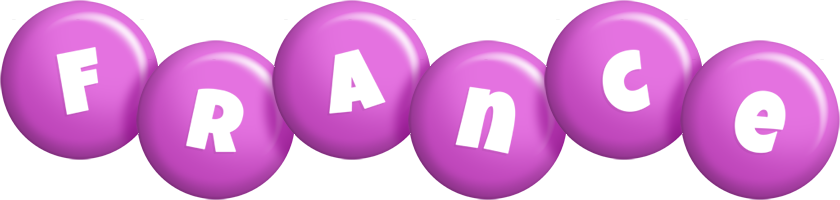 France candy-purple logo