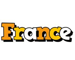 France cartoon logo