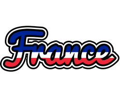 FRANCE logo effect. Colorful text effects in various flavors. Customize your own text here: https://www.textGiraffe.com/logos/france/