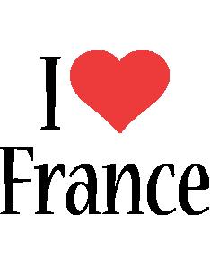 France i-love logo