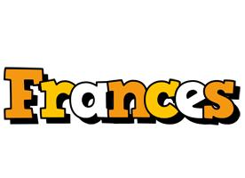 Frances cartoon logo
