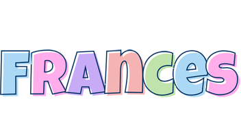 Frances pastel logo