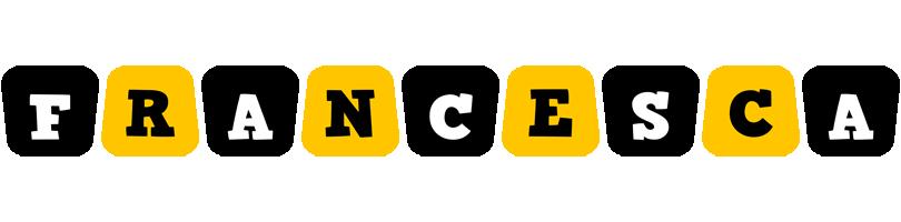 Francesca boots logo