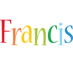 Francis birthday logo