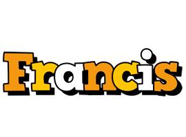 Francis cartoon logo