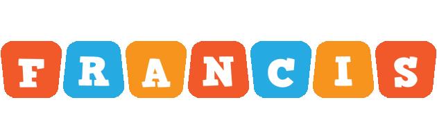 Francis comics logo