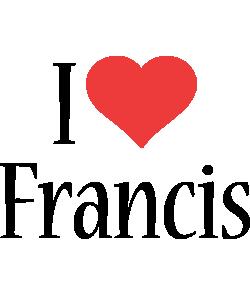 Francis i-love logo