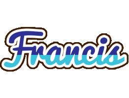 Francis raining logo
