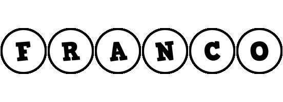 Franco handy logo